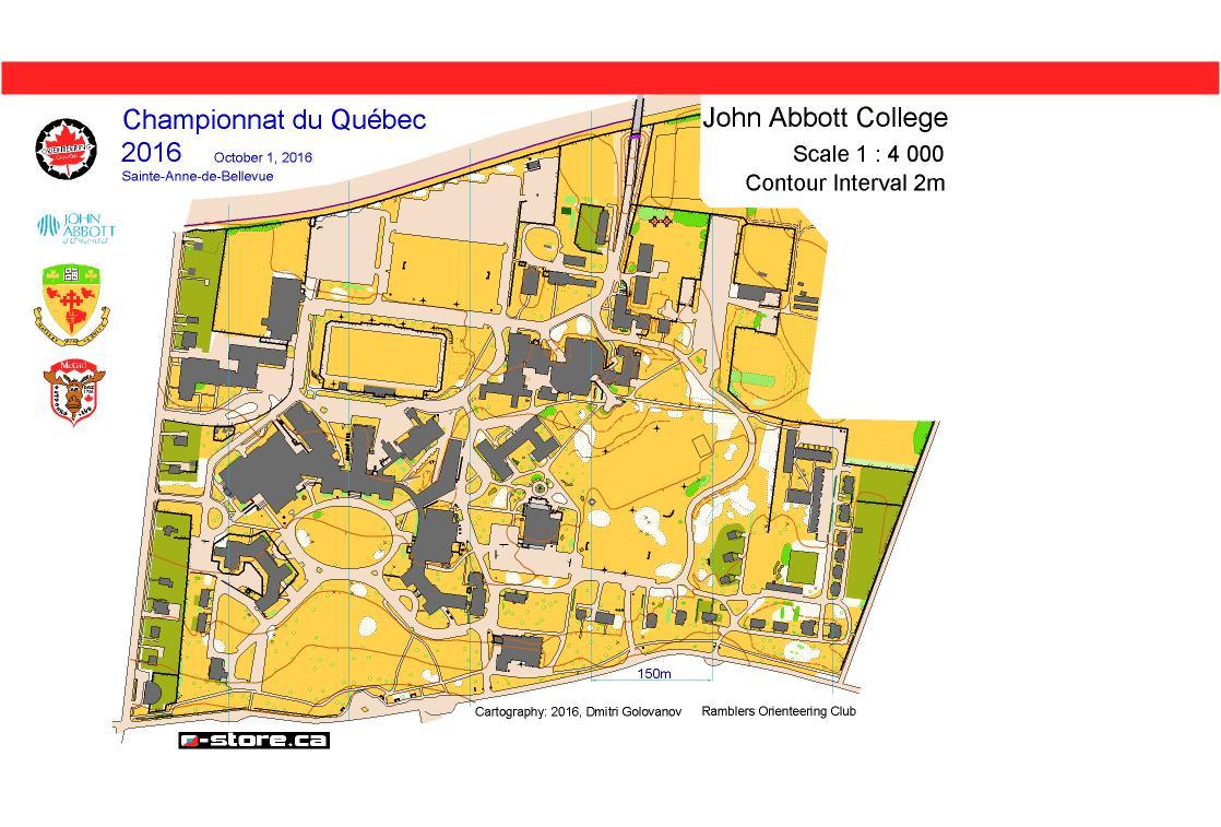 John Abbott Map Maps – Ramblers Orienteering Club John Abbott Map